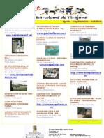 Agenda Eventos Deportivos (Agosto, Septiembre y Octubre)