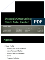 Sec C Group 4 - Strategic Outsourcing at Bharti Airtel Limited