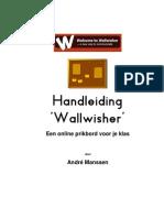 Handleiding Wallwisher