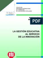 Folleto 12 La Gestión Educativa Al Servicio de La Innovación_2813