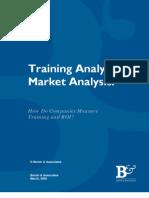 Tracking ROI of Training