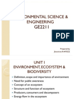 Intrroduction to Environmental Studies
