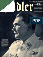 Der Adler nº 4 (20 Febrero 1940)