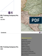 BSL Training Company Pvt. Ltd. - Company Profile