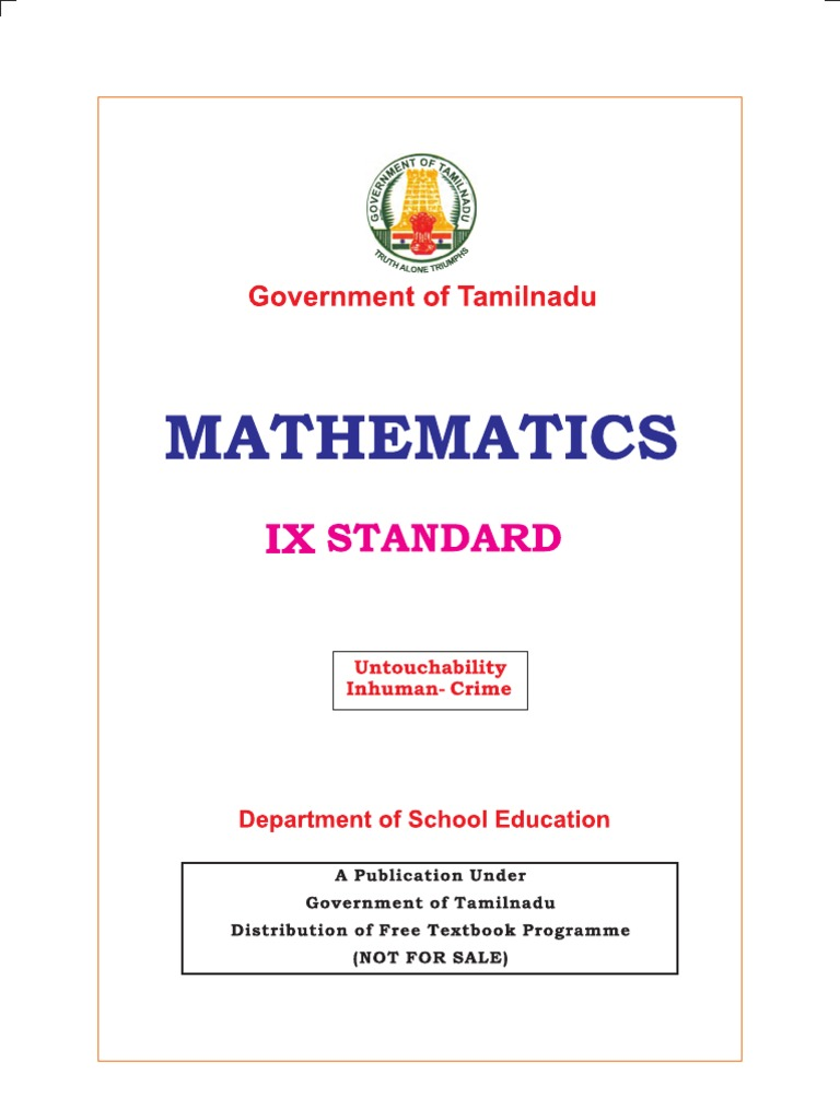 State board 7th maths book