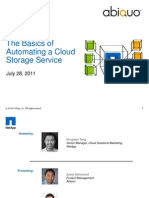 Basics of Automating Cloud Storage_Abiquo_072811