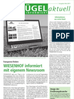 Wiesenhof Newsletter Mai 2011