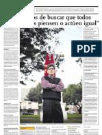 Orrego, Juan Luis-No Tratemos de Buscar Que Todos Los Peruanos Piensen Igual