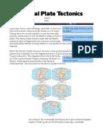 History of Plate Tectonics