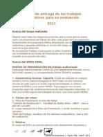 RyLA Pautas Evaluacion 2011