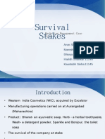 Survival Stakes Revised