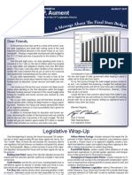 Rep. Aument Newsletter
