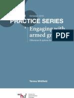 BOOK Praticas de Mediacao Com Grupos Armados