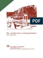 The Architecture of Interpretation