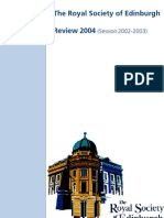 Review of Session 2002-2003