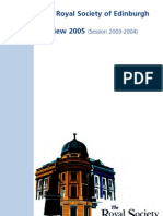 Review of Session 2003-2004