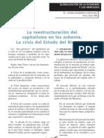 la reestructuracion del capitalismo