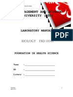 Manual Biology Student