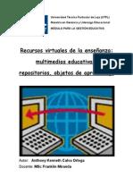 Multi Medias, Repositorios Objetos de Aprendizaje