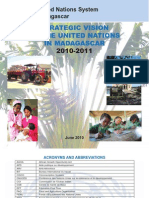 Strategic vision of the United Nations in Madagascar, 2010-2011 (SNU- 2011)
