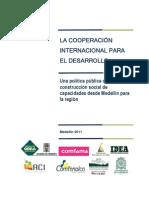 Política de Cooperación de Medellín (Documento Técnico)