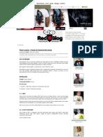 etas Nerd, Geek, Design, Estampas Criativas - Camisetas Red Bug