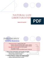 Natural Law Libertarian - Frank Van Dun