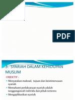 Bab 3- Syariah