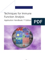 Techniques for Immune Function Analysis Handbook
