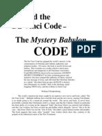 Davinci Code and Beyond