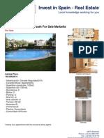 For sale Marbella - River Garden 2 bed apartment