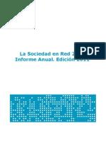 La Sociedad en Red 2010 (ONTSI 2011)