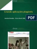 Django - criando aplicações plugáveis