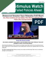Stimulus Watch
