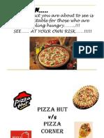 Pizza Hut vs. Pizza Corner