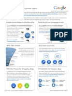 Smart Phone User Research One-Sheet 5.6