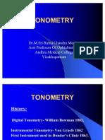 1.Tonometry