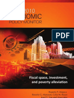 PIDS 2010 Economic Policy Monitor