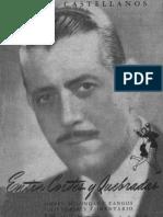 Entre cortes y quebradas - Pintín Castellanos - 1948