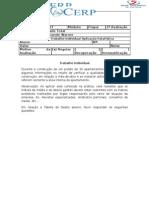 CERP EDI07 Trabalho Individual Desvio padrão