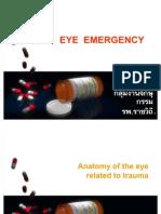 Eye Emergency for Medical Student
