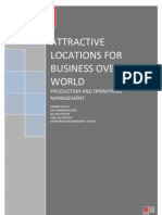 Attractive Location for Businees Over the World