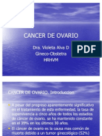 Cancer de Ovario
