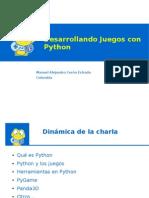 Desarrollando Juegos con Python