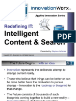 Intelligent Content and Search