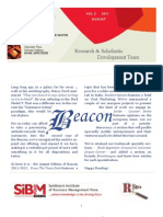 The Beacon - August 2011 edition
