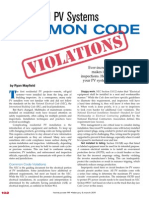 Code Concerns HP141 2011