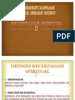 kECERDASAN SPRIRITUAL ATAU ROHANI