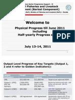 MEU_Presentation on Progress Till Jan-Jun 2011
