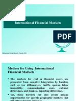 Chapter-03 International Financial Markets